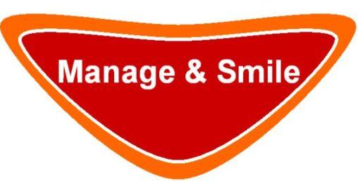 logo Manage & Smile